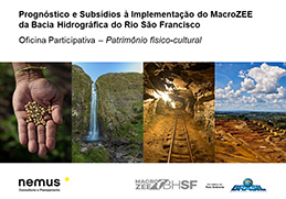 Workshops for the Plan for Ecological-Economic Zoning of the São Francisco River Basin